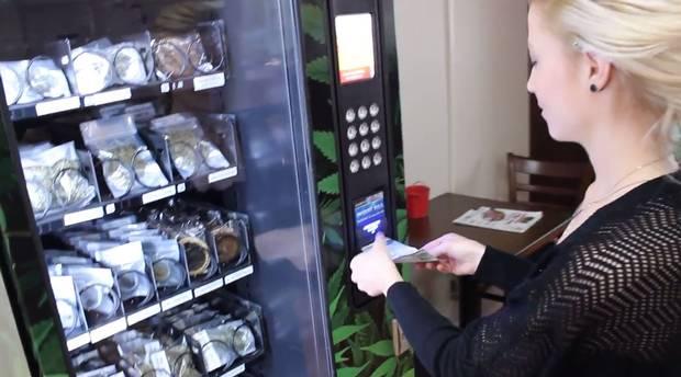 Pierwszy automat z marihuaną w Vancouver, thc thc.info