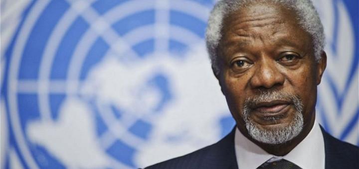 Kofi Annan, były szef ONZ mówi, że wojna narkotykowa jest globalną porażką, thc thc.info