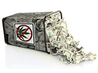 Dwie trzecie Amerykanów twierdzi, że egzekwowanie prawa dotyczącego marihuany kosztuje więcej, niż jest tego warte, thc thc.info