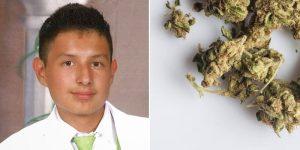 Nastolatek deportowany przez gram marihuany, thc thc.info